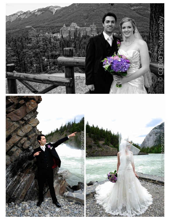 Banff Alberta wedding photos