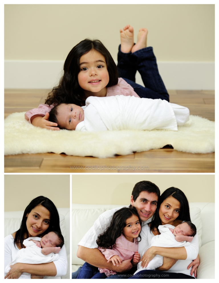 newborn family photo