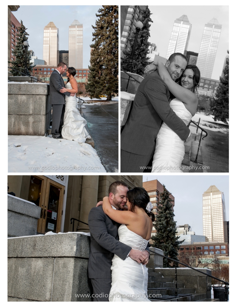 formal calgary wedding photos
