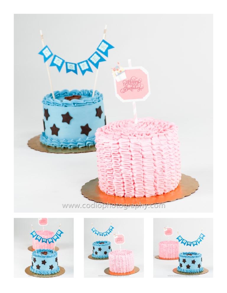 birthday cakes by Sara Beans