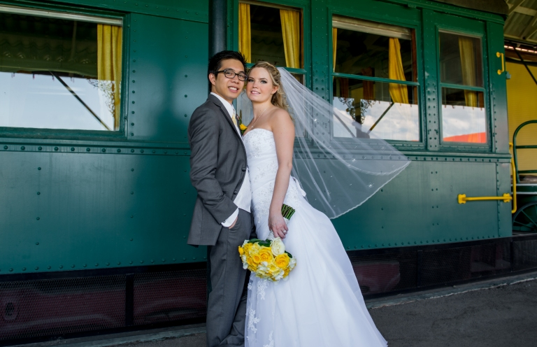 spruce meadows wedding photo