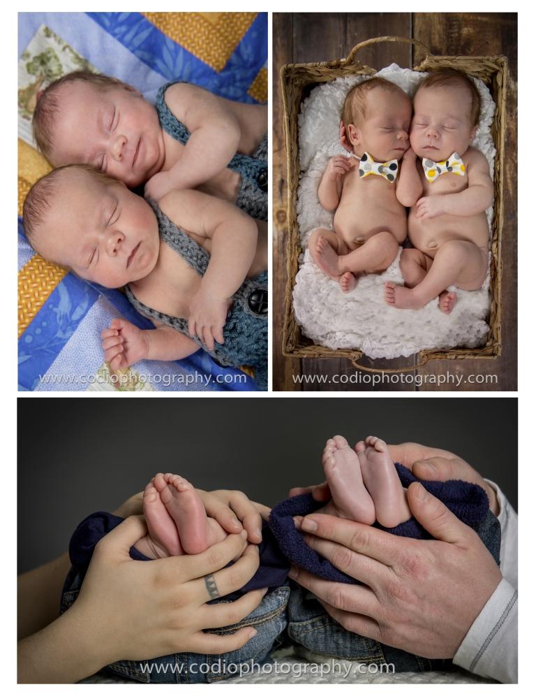 Newborn Twin Photos