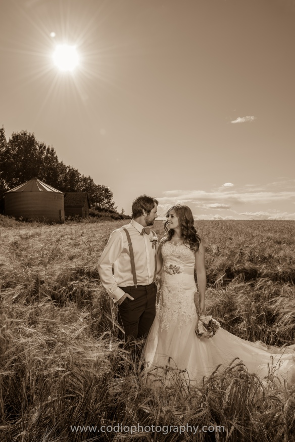 Travis & Tayona, Airdrie Wedding