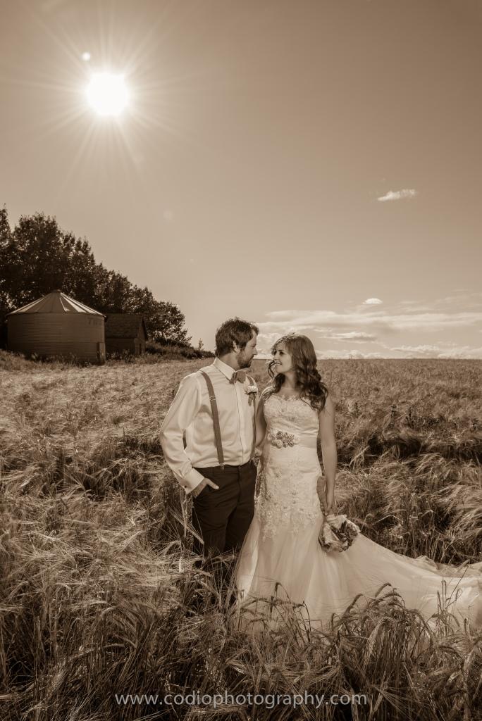 Travis & Tayona, Airdrie Wedding