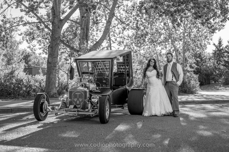 Bride and Groom Fort Edmonton Park
