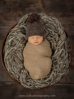 Calgary Newborn by CODIO Photography