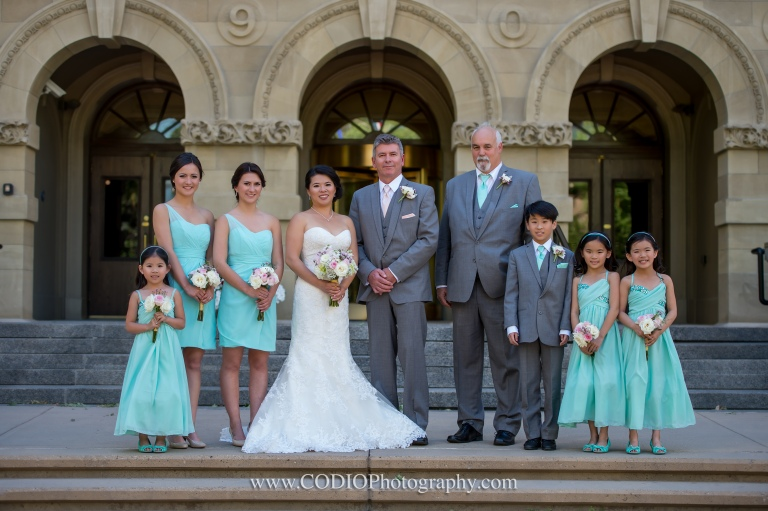 Wedding Party CODIO Photography