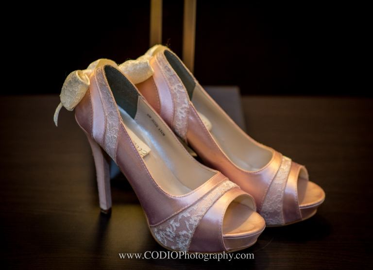 wedding shoes pink