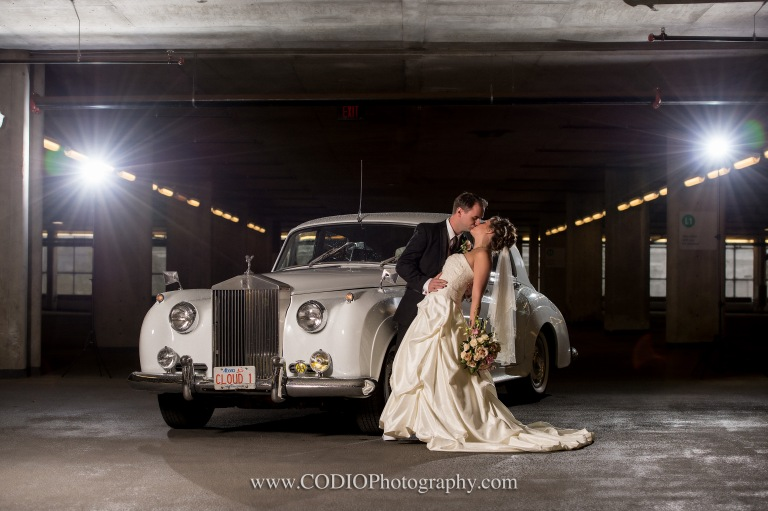 1955 Rolls Royce Wedding Photo