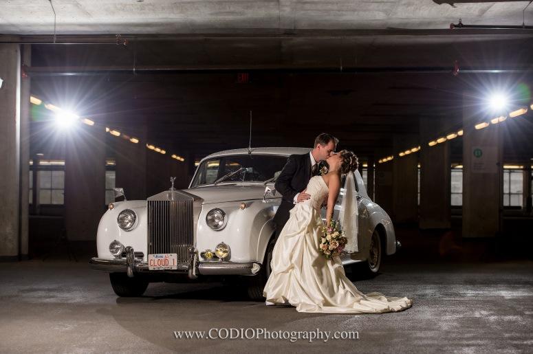 1955 Rolls Royce Wedding Photo